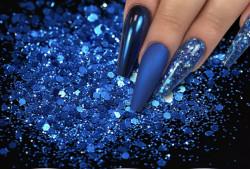 Glitter Bomb blue