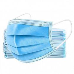 Masca de protectie albastra - set 10 bucati