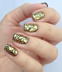 Paiete Glass Effect gold