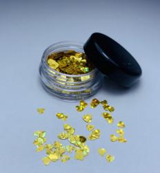 Paiete inimioare - GOLD cu reflexii