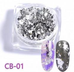 Pigment Flakes CB - 01 Silver