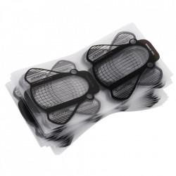 Sabloane pentru constructie unghii Plastifiate PVC 300buc