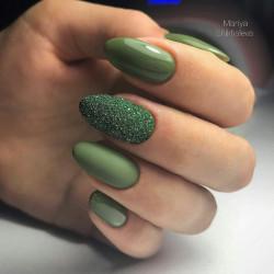 Sclipici fin verde #2