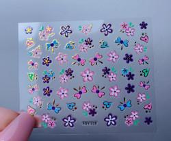 Sticker 3D FDY 226