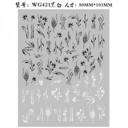 STICKER UNGHII - WG421