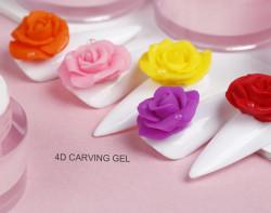 GEL 4D PLASTILINA - 02 - GALBEN