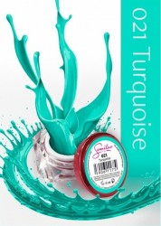 Gel color Semilac 021 Turquoise