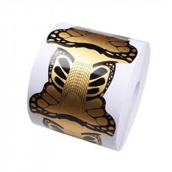 Sabloane unghii FLUTURE GOLD 300 buc