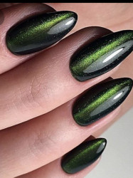 TOP COAT SOAK-OFF LILA ROSSA CAMELEON CAT EYE 7.3 ML GREEN