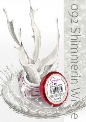 Gel color Semilac 092 Shimmering White
