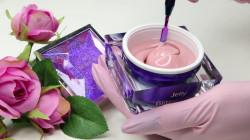 Jelly Glittery Chic Gel UV 30 ml - Allepaznokcie (cu sclipici aurora boreala)
