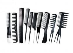 Set 10 piepteni frizerie