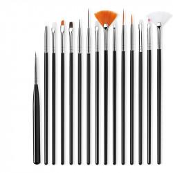 Set 15 pensule Black