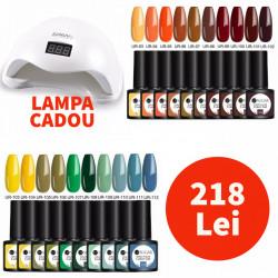 Set 20 Oje Semipermanente SUGAR 7.5 ml + Lampa LED SUN5 48W CADOU #2