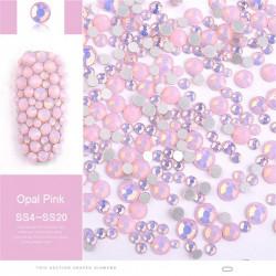 Set mix cristale Opal Rose