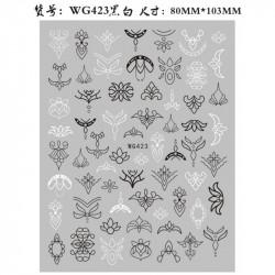 STICKER UNGHII - WG423