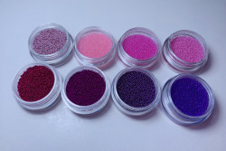 Caviar set Pink & purple