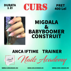 CURS MIGDALA CLASICA + BABYBOOMER CONSTRUIT - ANCA IFTIME