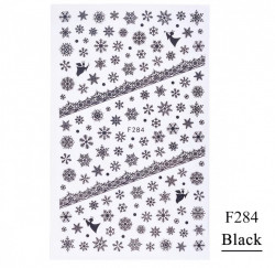 Decor Craciun F284 black