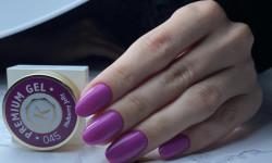 Gel color premium UV/LED Kayara 045 Mulberry Jelly