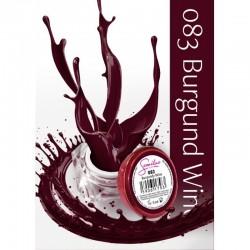 Gel color Semilac 083 Burgundy Wine