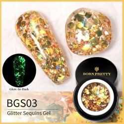 Gel Glitter Luminos Born Pretty 5g - BGS03