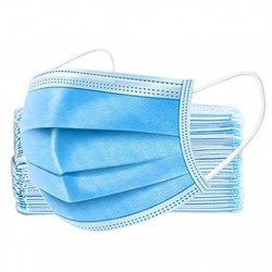 Masca de protectie albastra - set 50 bucati