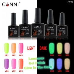 Oja Semipermanenta CANNI Luminous - Glow In The Dark 06