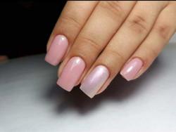Oja Semipermanenta Rosalind 7ml - 15 - alb cu reflexii roz