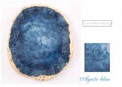 Paleta pentru culor Blue Quartz Stone