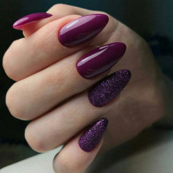 Sclipici extra fin Holo Purple Effect