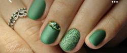 Sclipici fin verde #4