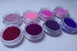 Caviar set Pink & purple