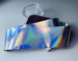 Folie de transfer holografica silver