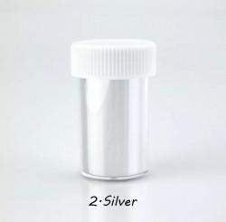 Folie de transfer silver matte