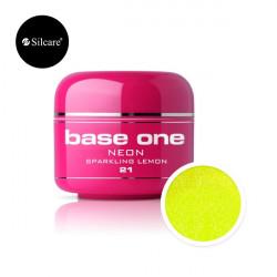 Gel color Base One Neon Sparkling Lemon *21 5g