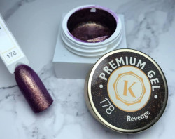 Gel color premium UV/LED Kayara 178 Revenge