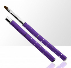 Pensula tip stilou #4 Purple