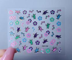 Sticker 3D FDY 239