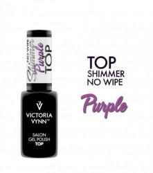 TOP NO WIPE SHIMMER PURPLE VICTORIA VYNN 8 ML