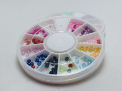 Carusel perle colorate