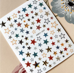 Decor unghii STARS 466