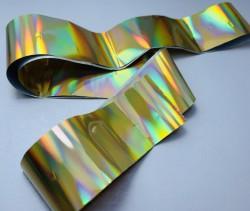 Folie de transfer holografica gold