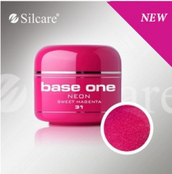 Gel color Base One Neon Sweet Magenta *31 5g