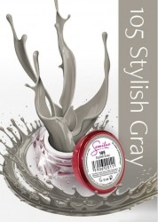 Gel color Semilac 105 Stylish Gray