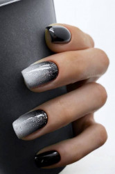 Lila Rossa BLISS top color Glitter Silver 7 ml