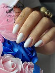Polygel Lila Rossa Premium, 60 g, White