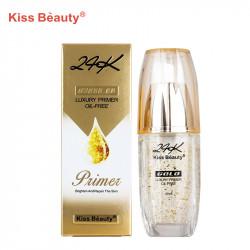 Primer, baza de machiaj, Kiss Beauty 45ml - Golden Edition 24K