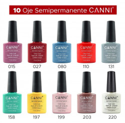 SET 10 oje semipermanente Canni #1