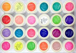 Set geluri color pentru unghii Miley, 24 culori